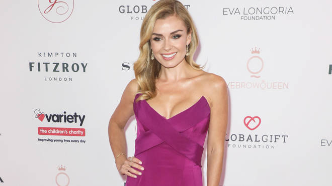 Katherine Jenkins bravely stepped in to halt an attack on an elderly woman