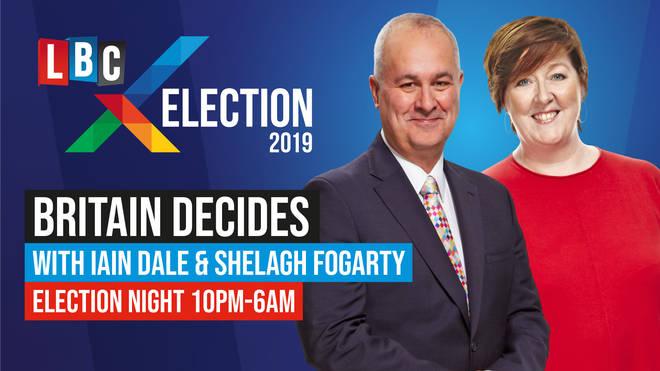 Britain Decides: LBC's election night special