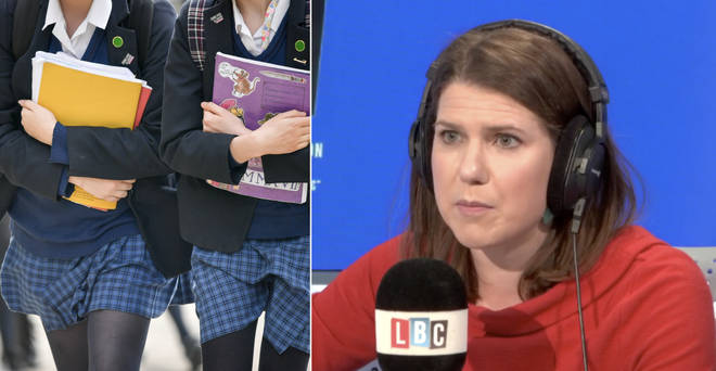 Jo Swinson got very passionate about gender-neutral uniforms