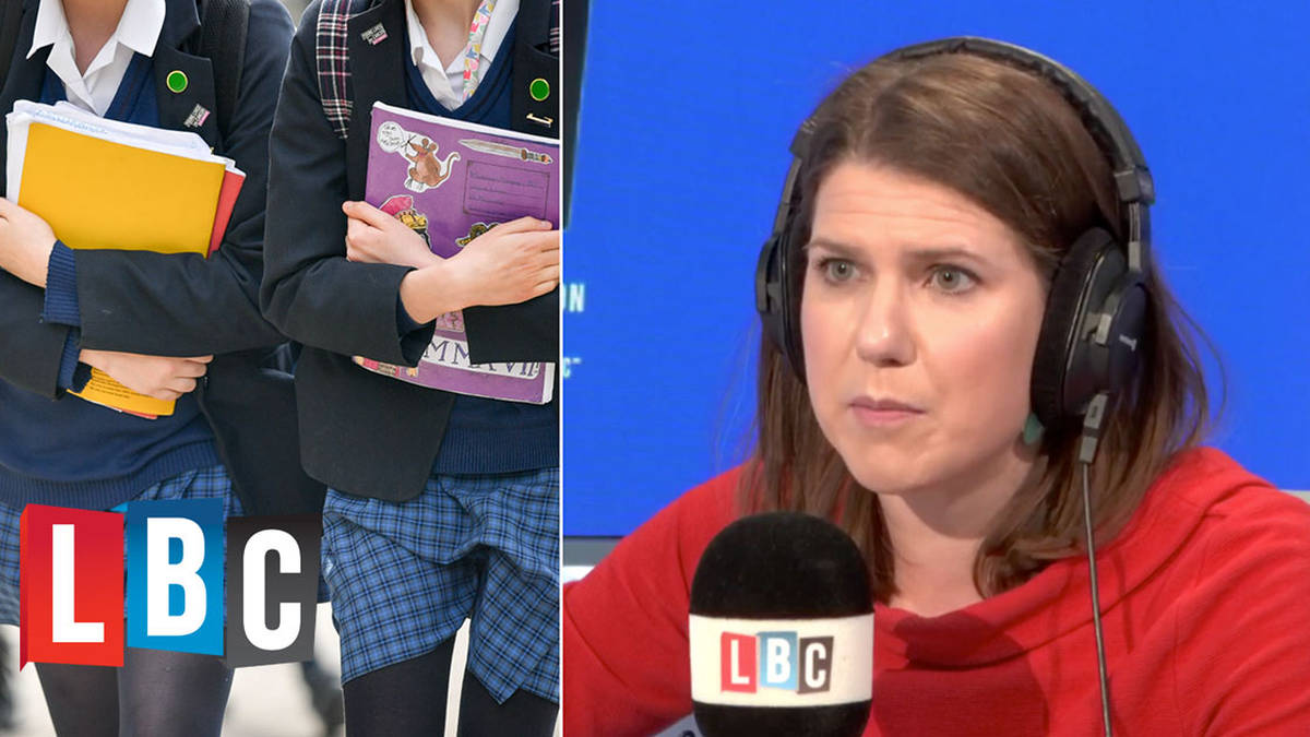 Jo Swinson's passionate response to caller who criticised boys wearing skirts