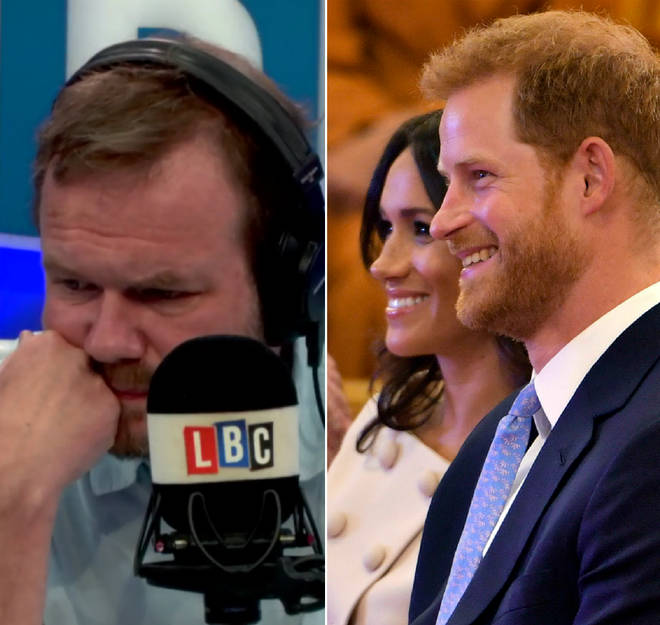 James O'Brien heard some powerful points about the Royal Family