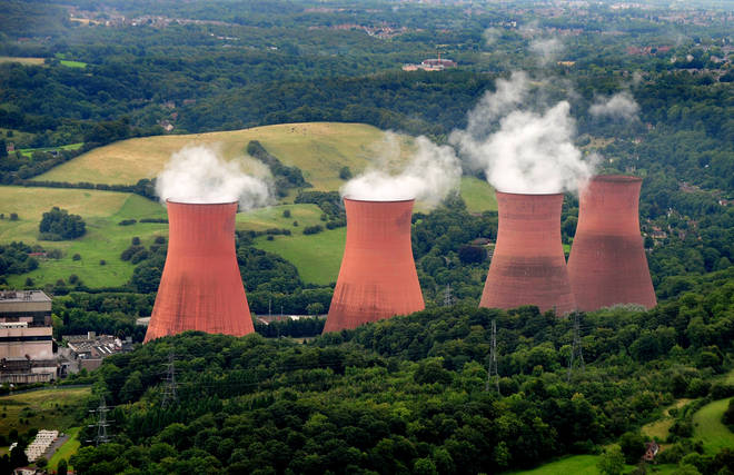 The power station stopped producing electricity in 2015