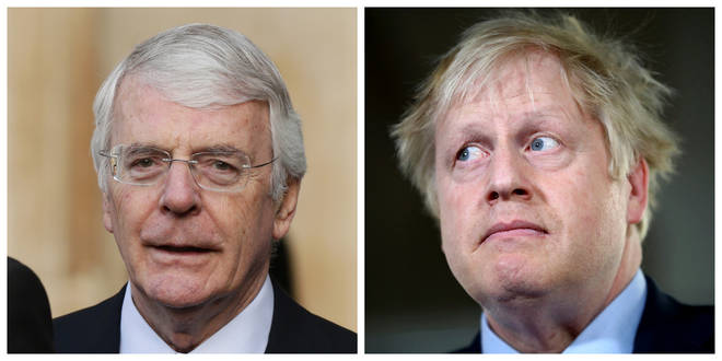 Sir John Major has urged people to re-elect three expelled MPs