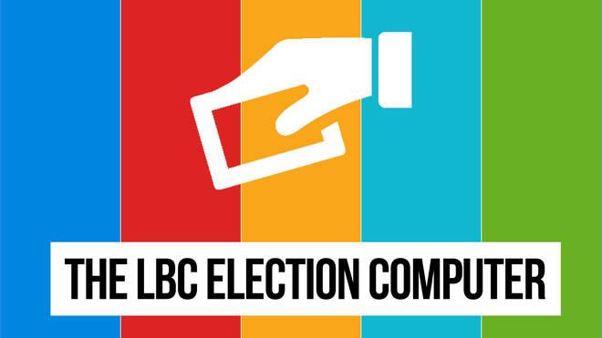 The LBC Election computer
