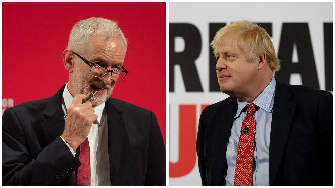 Corbyn and Johnson are going head-to-head in a live debate