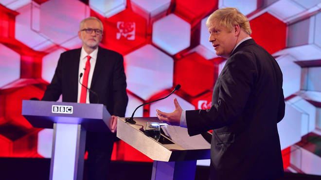 The two leaders clashed over several topics in the debate