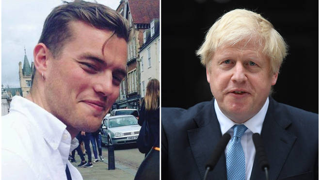 "Boris Johnson has been accused of using Jack Merritt&squot;s death to ""make political capital"""