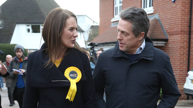 The pair visited doorsteps in Walton on Thames, Surrey