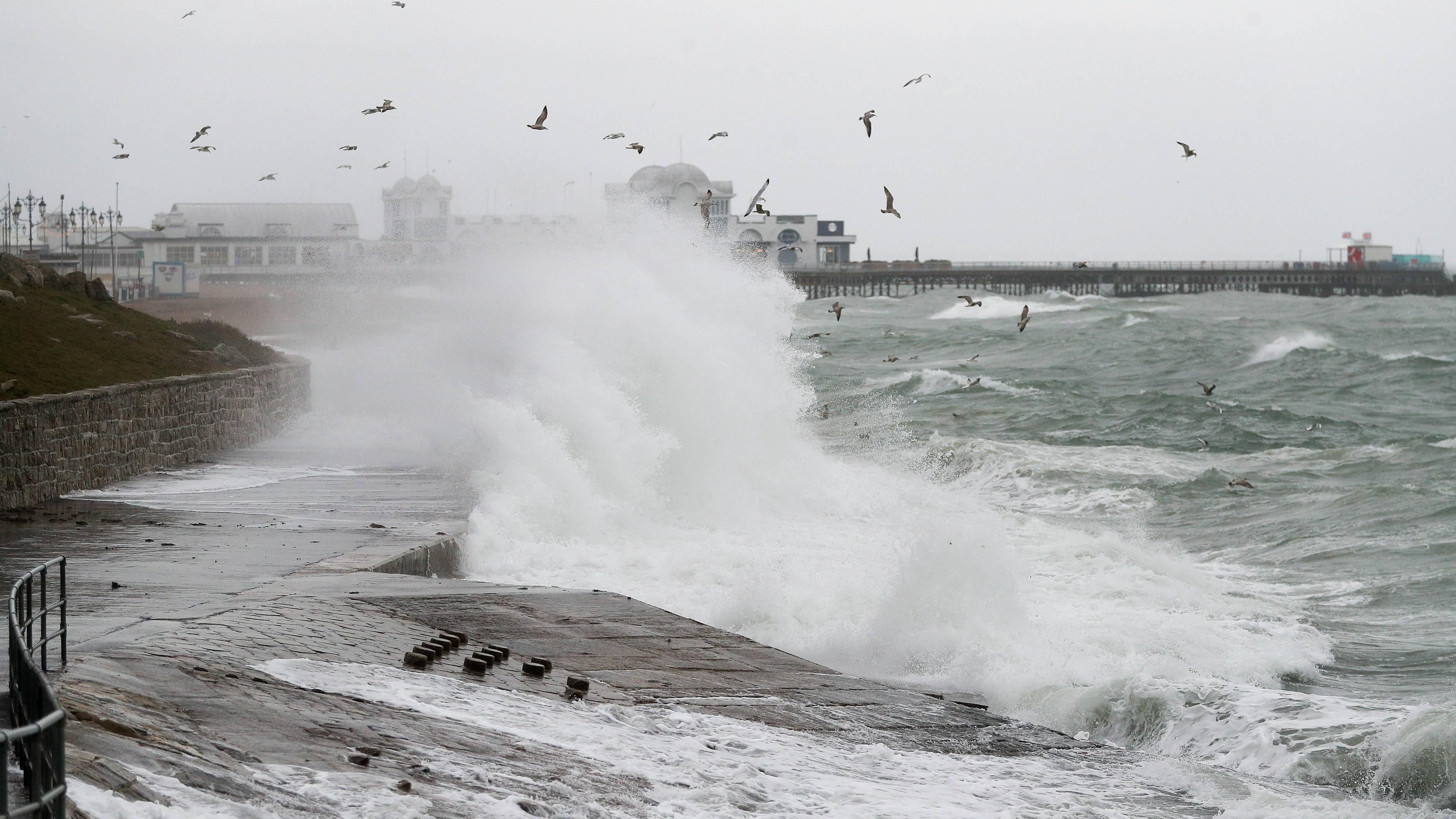 Storm Atiyah: Strong gales and heavy rain set to batter Britain