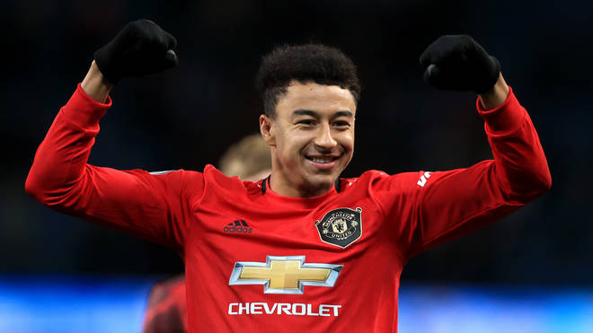 Jesse Lingard also allegedly had objects thrown at him by City fans