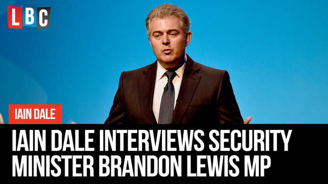 Iain Dale interviews Brandon Lewis: Watch live from 11am