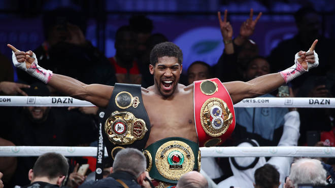 Anthony Joshua has regained his world heavyweight titles in Saudi Arabia
