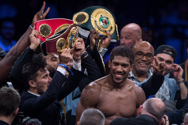 Joshua said this was his second-favourite victory of his career