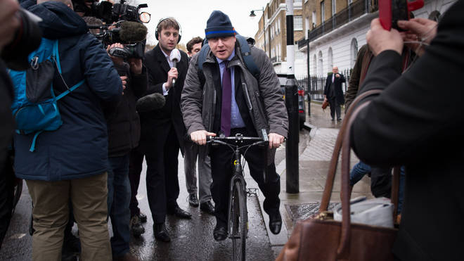 Boris Johnson was not keen to admit what the naughtiest thing he has ever done is