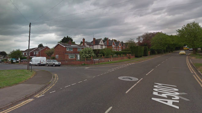 The woman was stabbed on Wellingborough Road last night