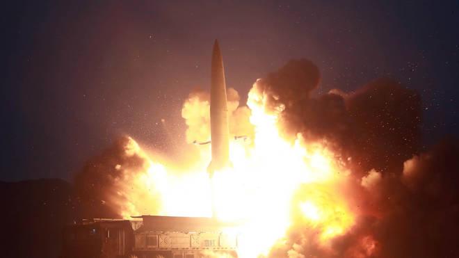 North Korea held missile tests in August