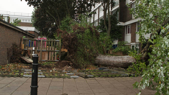 File photo: 75mph winds could hit parts of the country
