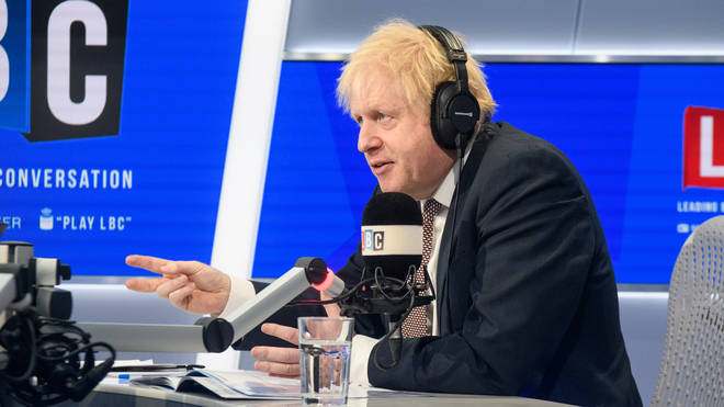 Boris Johnson live on LBC