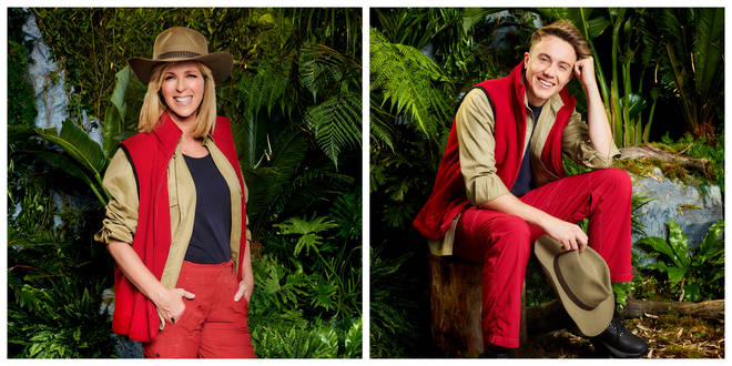 Kate Garraway and Roman Kemp