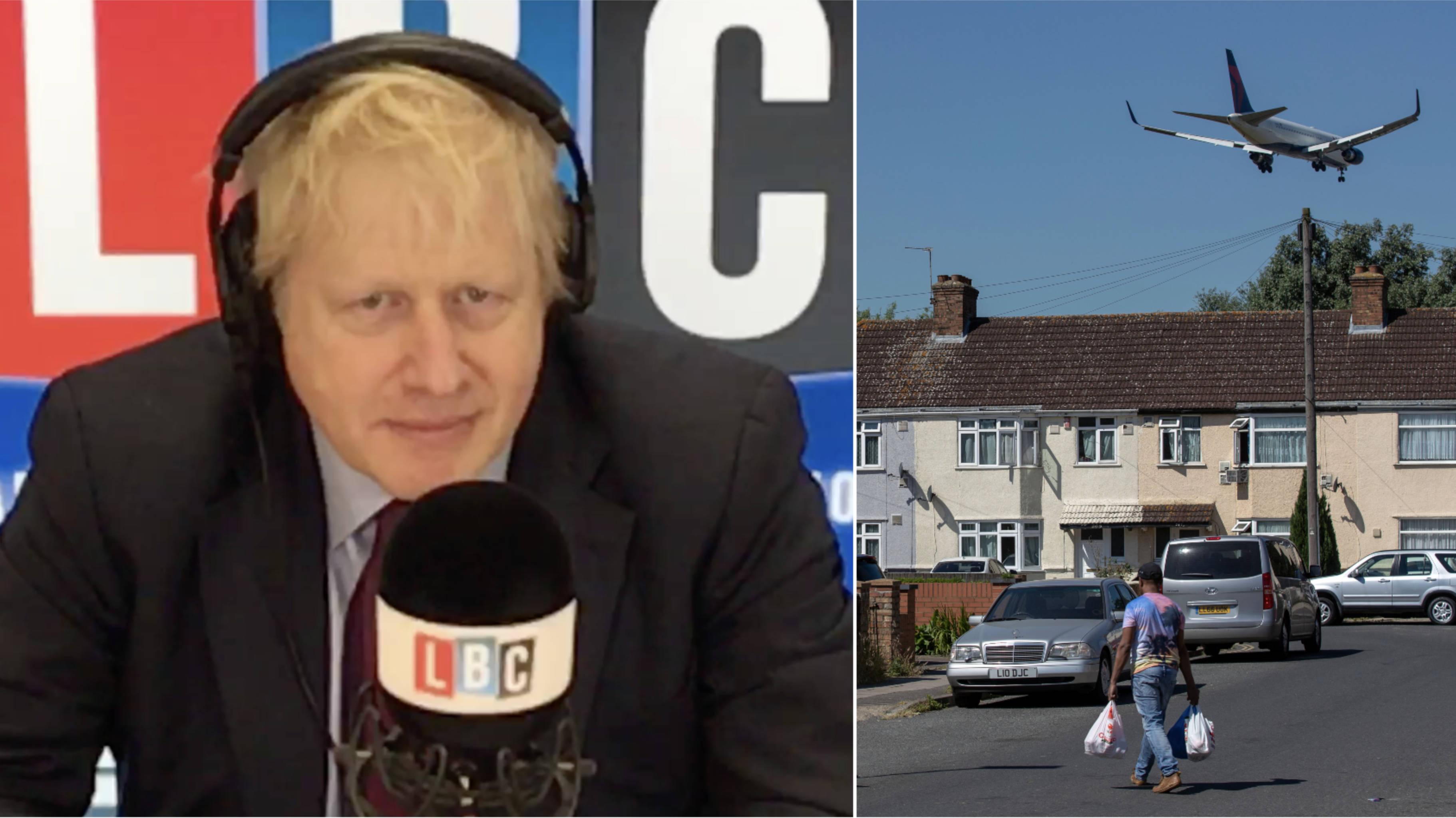 Boris Johnson casts doubt over Heathrow expansion and HS2
