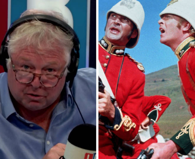 Nick Ferrari was involved in a heated row over calls to ban the film Zulu