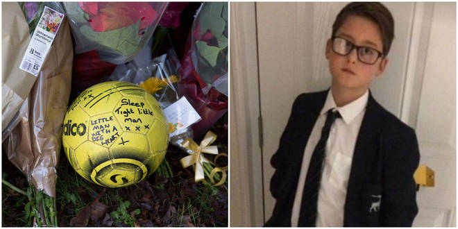Harley Watson, 12, died after being hit by a car outside his school in Essex