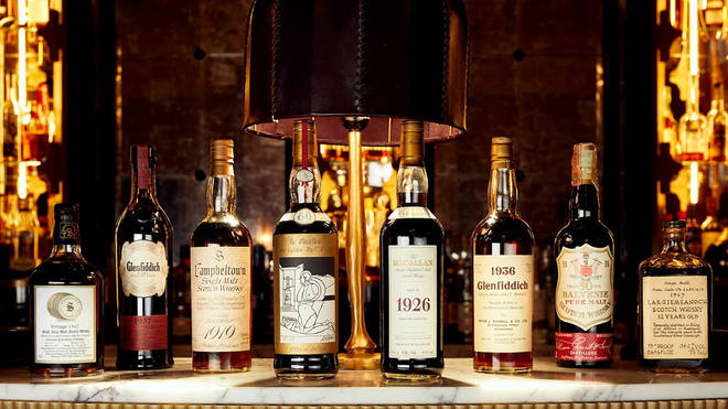 The collection comprises more than 3,900 bottles