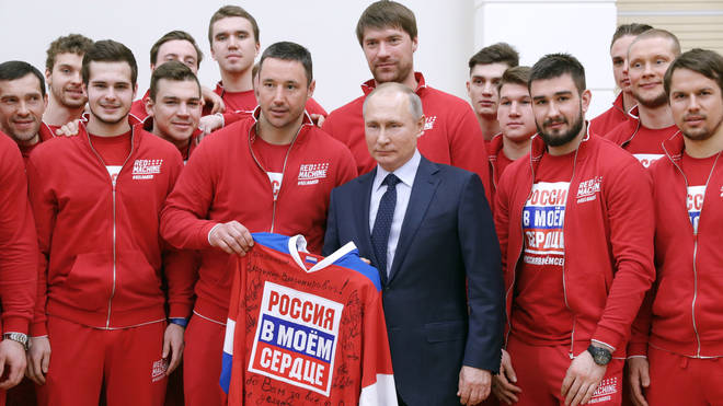 The Russian team will be excluded from the 2020 Olympics