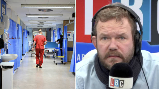 James O'Brien heard this alarming call from a paediatric nurse