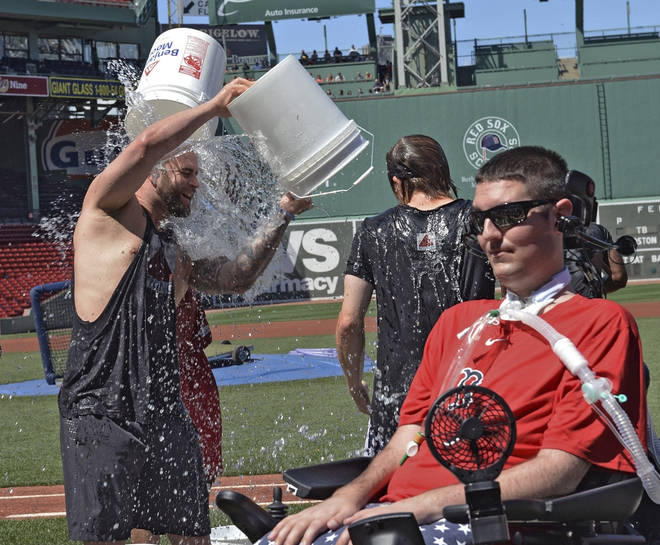 Pete Frates' determined battle with Lou Gehrig's disease helped inspire the ALS ice bucket challenge.