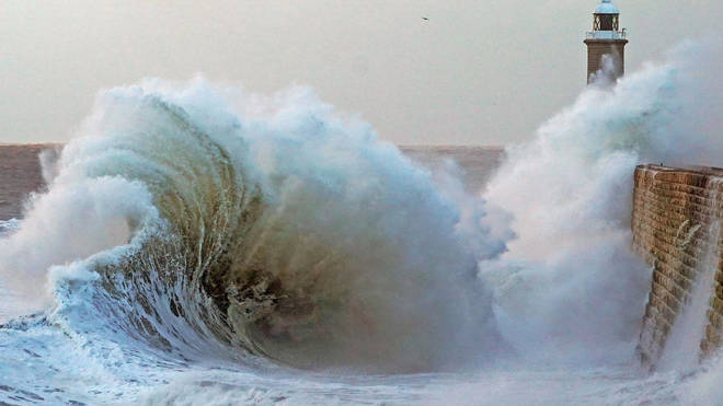 Strong winds in coastal areas are expected