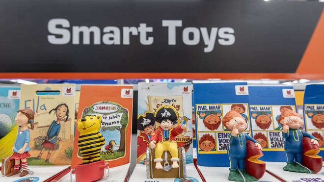 Smart toys are expected to be popular this Christmas