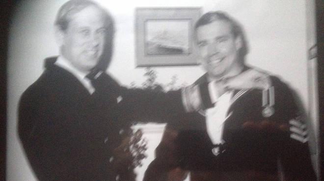 Mr Ousalice is a Falklands veteran