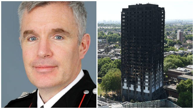 The commander at Grenfell will become London's new fire chief