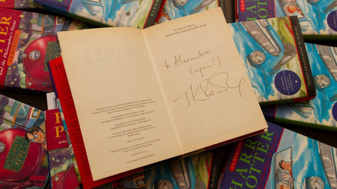 The signed book
