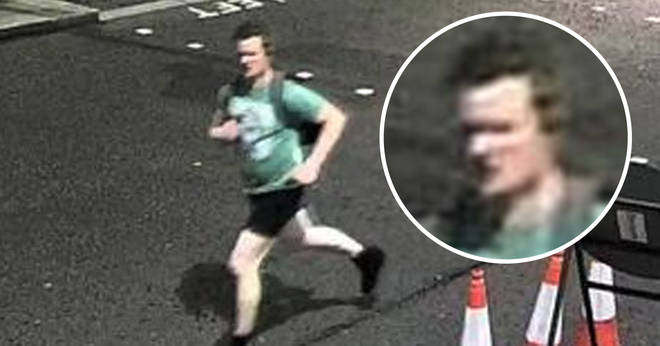 Police want to trace this man after a pedestrian was left with a broken nose