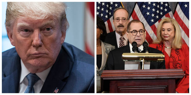 House Judiciary Committee Chairman Jerry Nadler made the announcement about President Donald Trump on Tuesday
