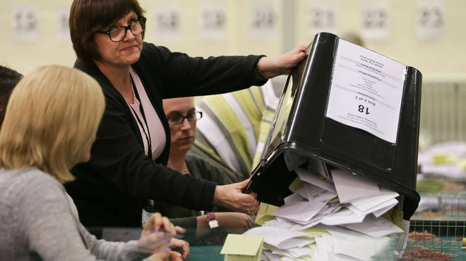The vote count takes place on the night of December 12