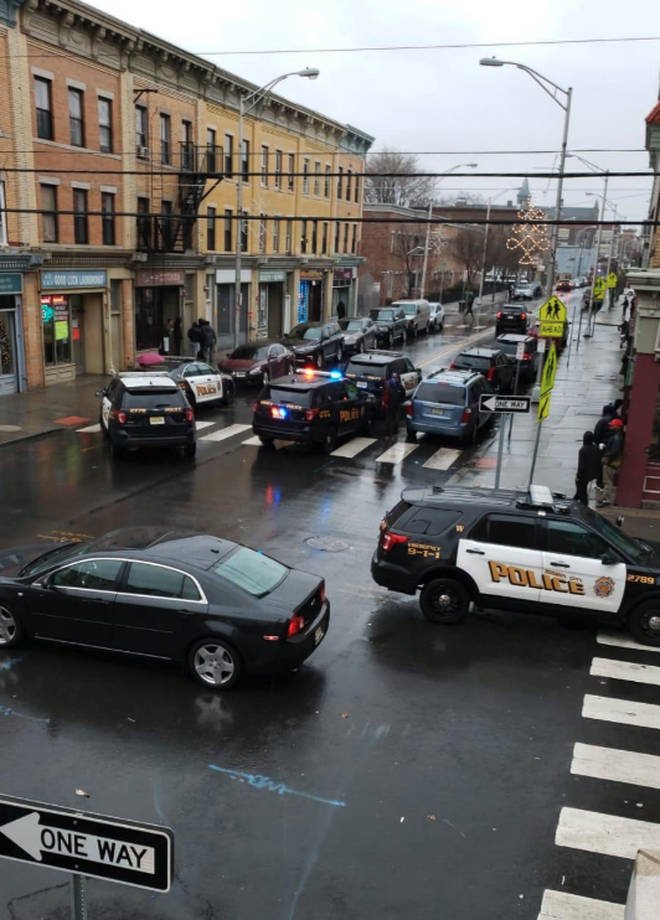 The shooting in Jersey City, USA