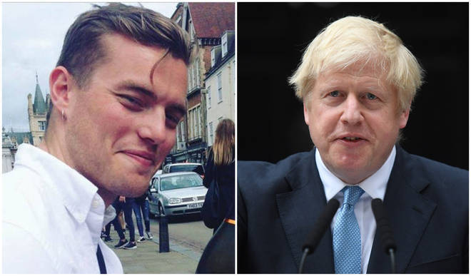 Jack Merritt's father David has criticised Boris Johnson
