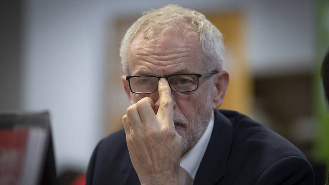 Mr Corbyn has been predicted to lose seats