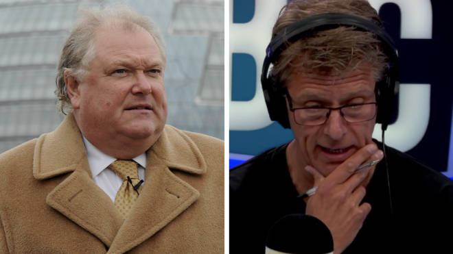 Lord Digby Jones and Andrew Castle