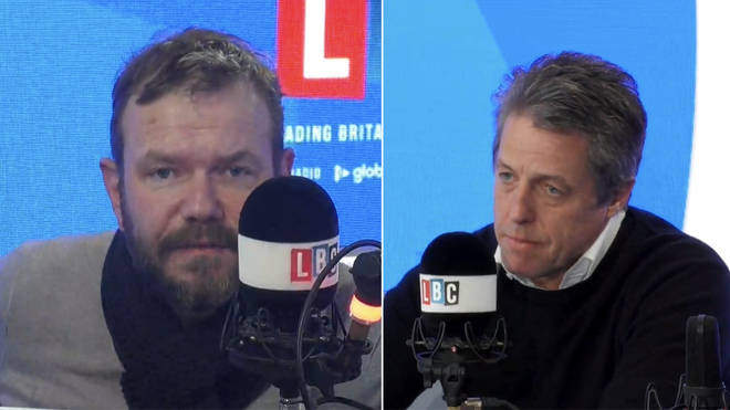 James O'Brien spoke to Hugh Grant about the general election