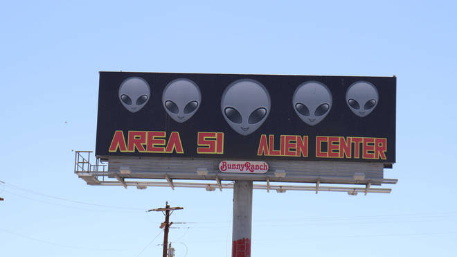 Area 51 was a hot topic on Google this year