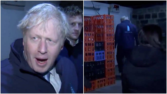 Boris Johnson hid in a fridge to avoid the GMB interview