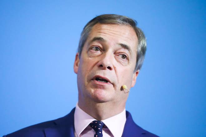 "Nigel Farage ""still thinks"" the Conservatives will win a majority on Thursday"