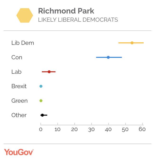 Zac Goldsmith's seat - Richmond Park