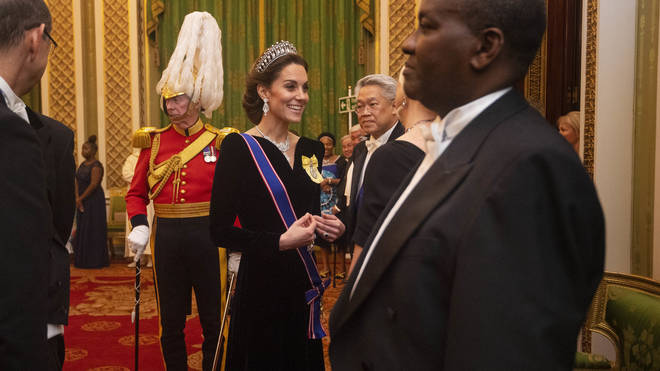 Kate has been seen wearing the tiara on a number of occasions