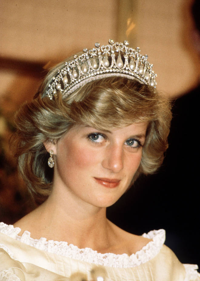 The tiara was a favourite of Diana, Princess of Wales