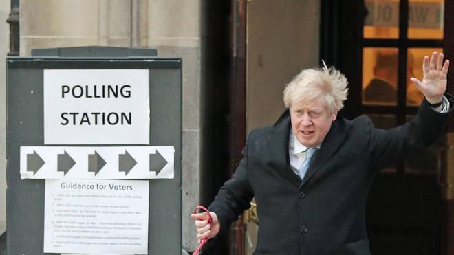 Boris Johnson cast his vote early